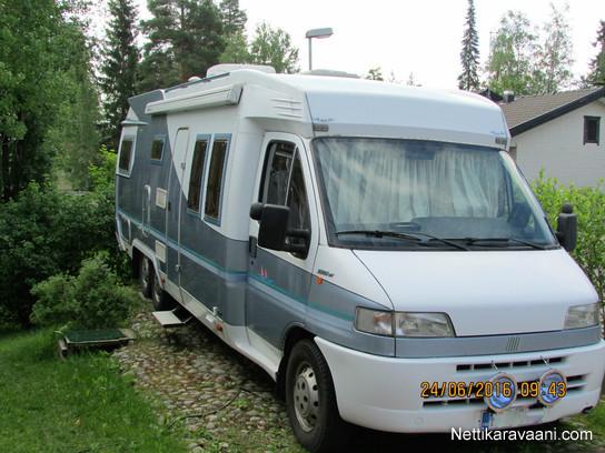 Hobby Fiat Ilmastointi Asuntoosassa Travel Truck - Fiat 700