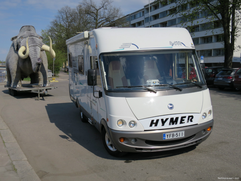 Hymer B 644 Fiat 2003 Travel Truck Intergrated