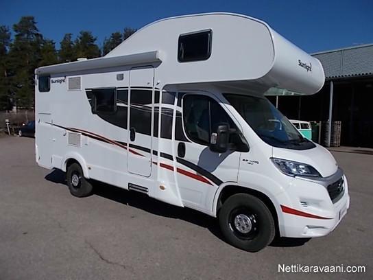 Vuokrataan Sunlight A68 Fiat 2017 Travel Truck Alcove