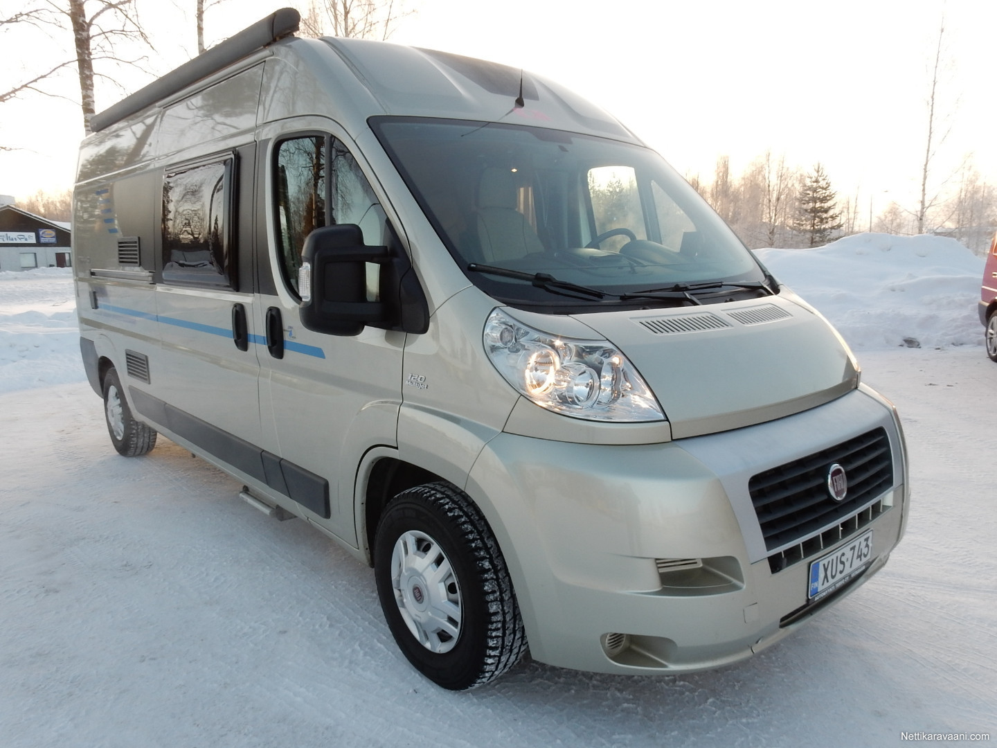 Discover the value of the Ducato, the Fiat motorhome that has achieved the highest level of quality in technology, safety, reliability and comfort.