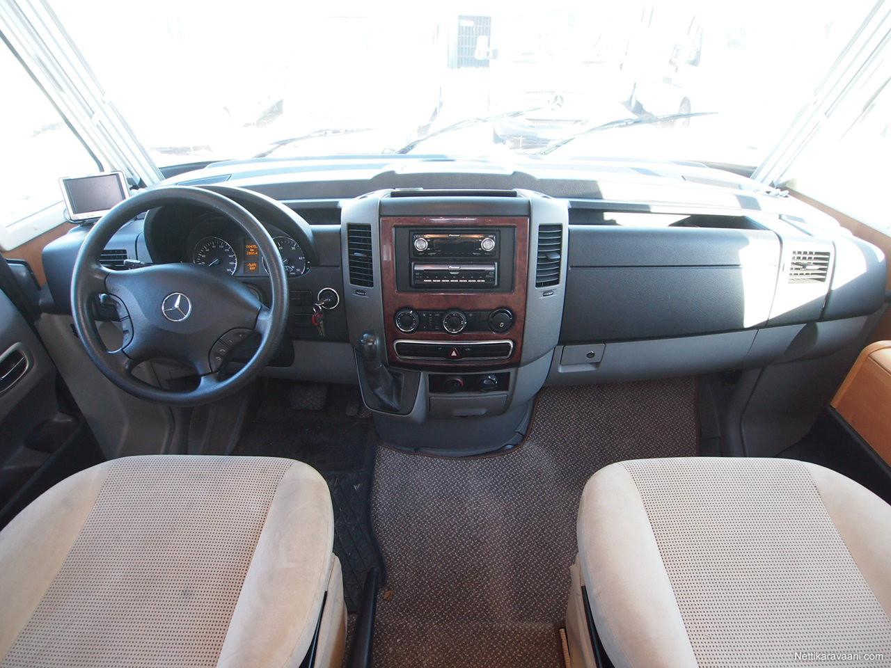 Rapido 966M MYYTY, Mercedes-Benz 315 CDI 2007 - Travel truck ...