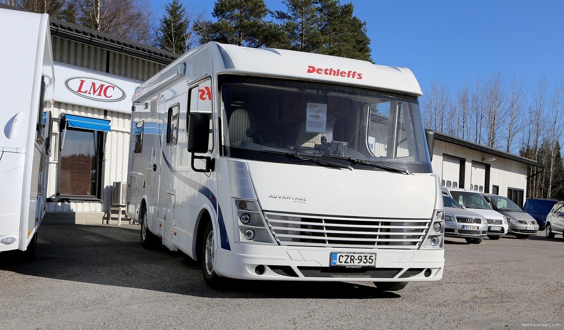 Matkailuauto Dethleffs I 6501B Advantage Luxus