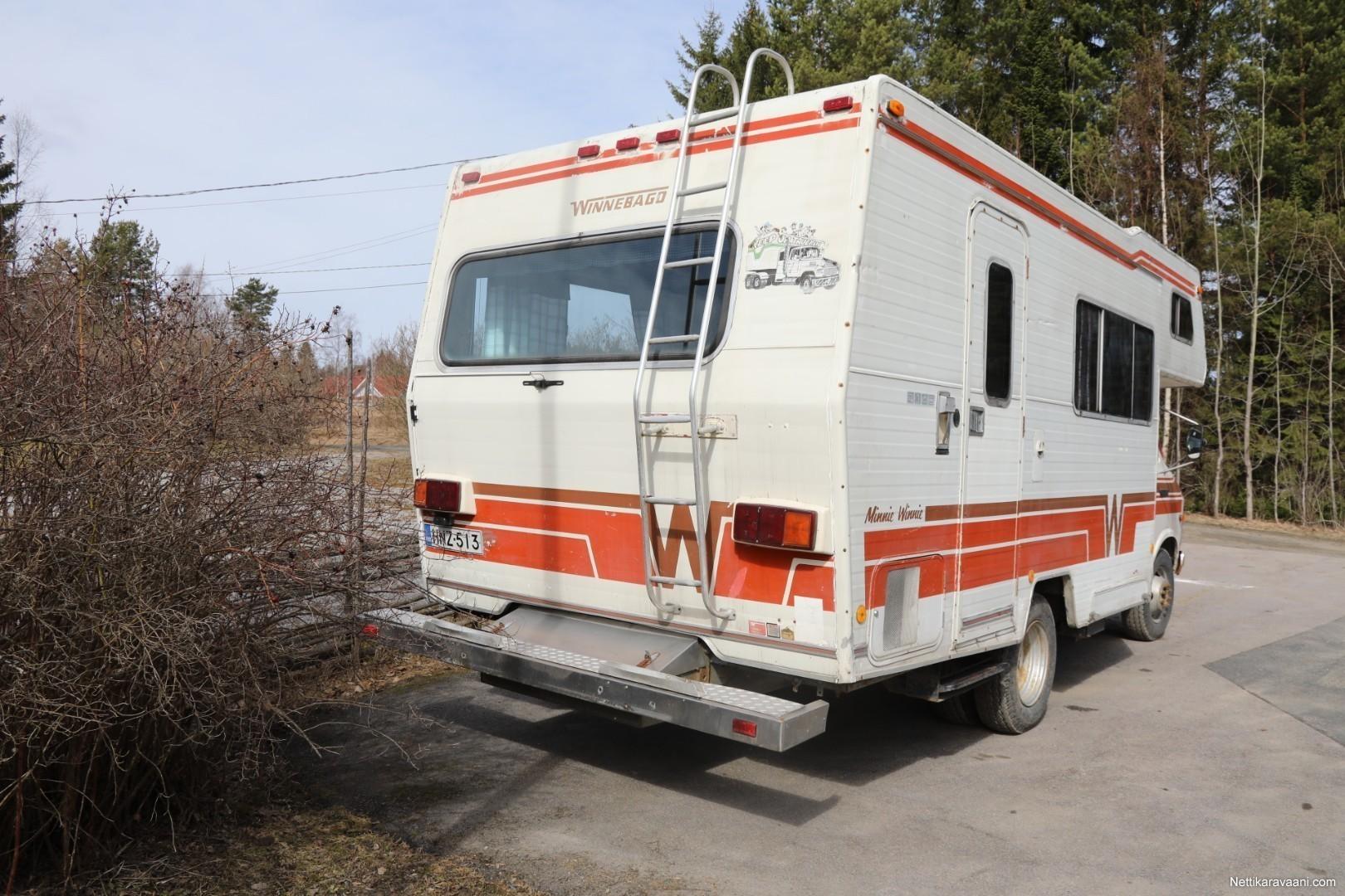 Winnebago Minnie Winnie Dodge 1980 Travel Truck Alcove 1949 Semi