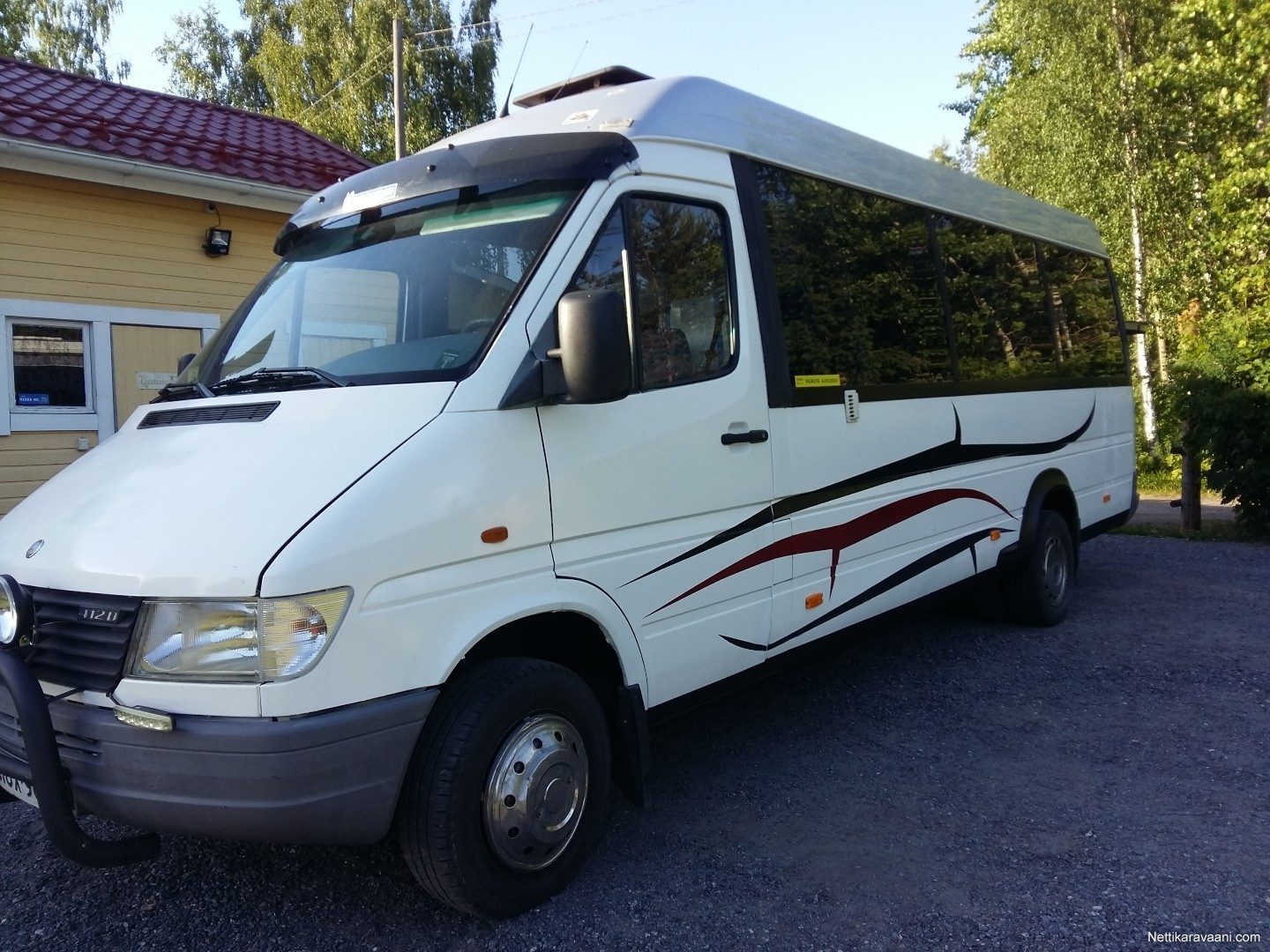 Enlarge image. Omavalmiste Sprinter 412D, Mercedes-Benz