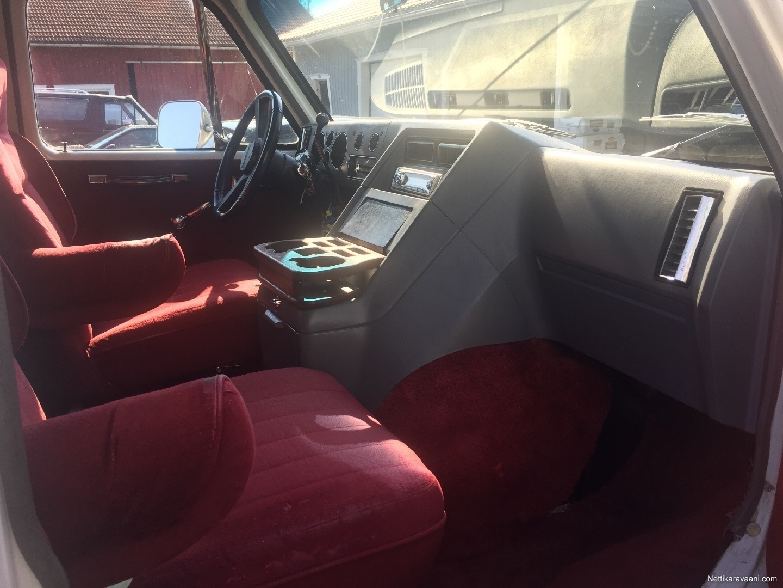 Coachmen Chevy Van G20, Chevrolet Greenbriar 1987 - Travel truck