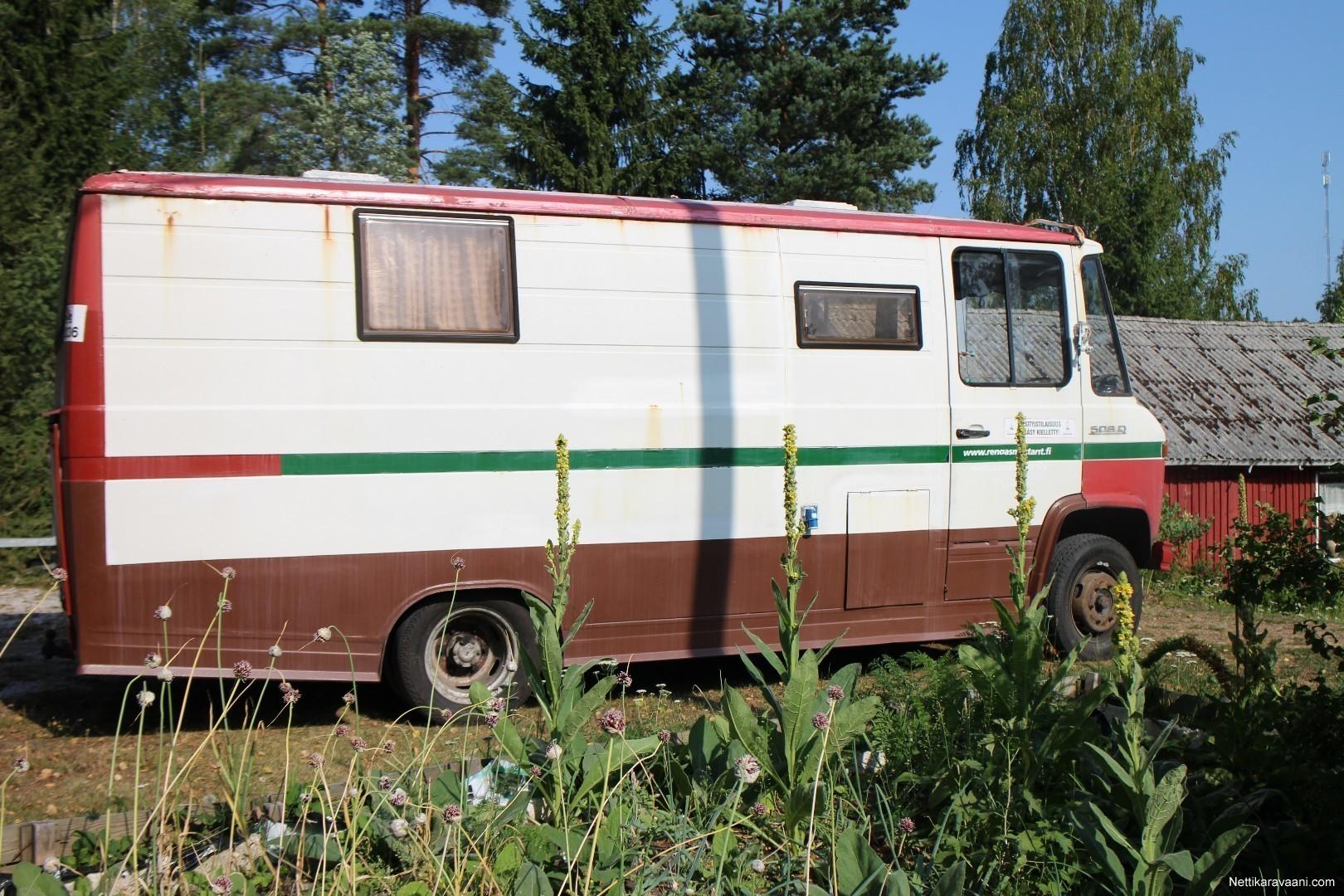 mercedes benz 508d mercedes benz 1977 matkailuauto