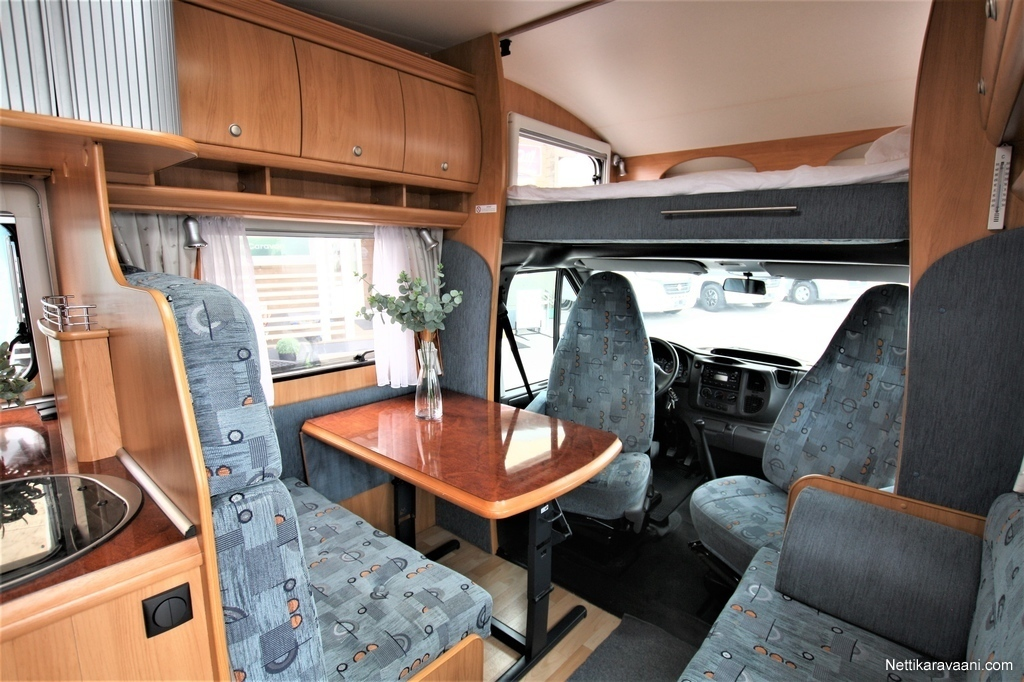 0b7810e19bc Hobby 550 AK, Ford Ford 125 hv 2006 - Travel truck - Alcove ...