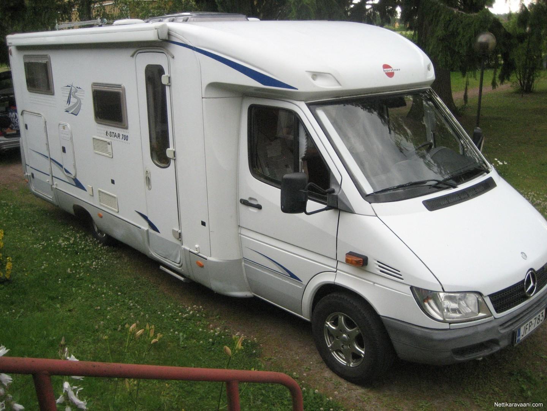 Bürstner 710, Mercedes-Benz 2004 - Travel truck - Semi ...